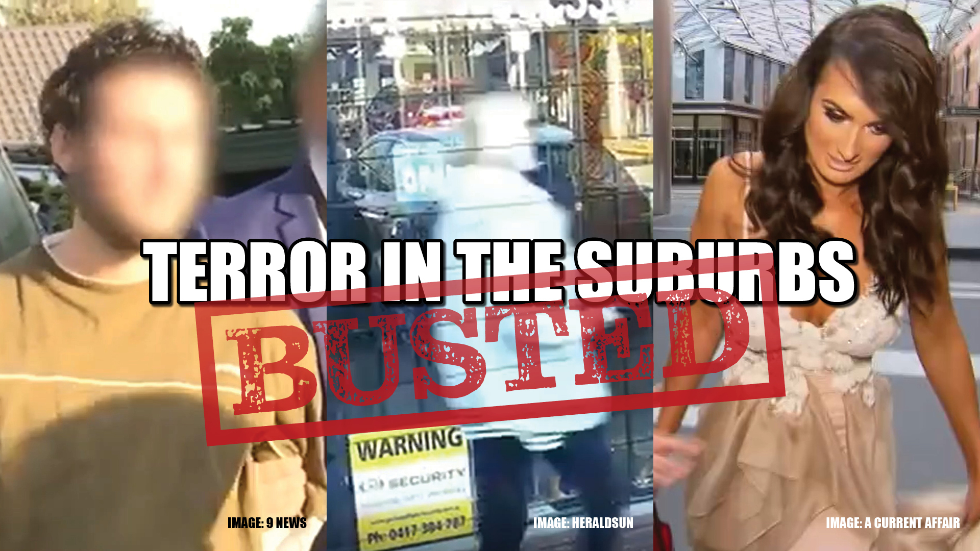 This episode of BUSTED we'll be once again taking a look at the crime stories unfolding in the suburbs of Australian capital cities. From wannabe celebrities to wannabe extremists, we are going to be unpacking some of the top news stories and some you might have missed.